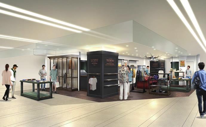 2015年8月29日(土) WORK NOT WORK URBAN RESEARCH 阪急メンズ大阪店 NEW OPEN