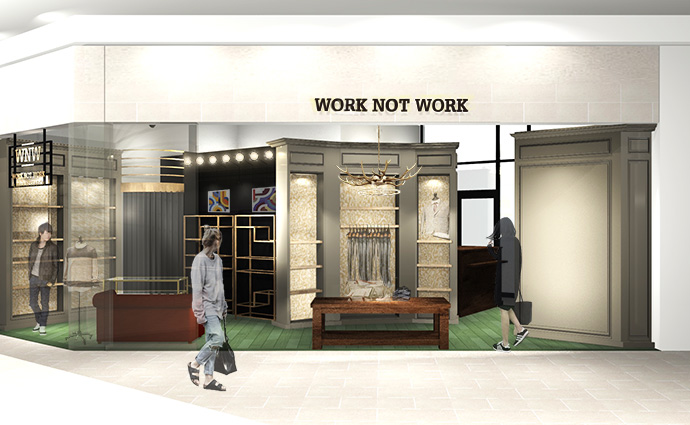 2015年9月11日(金) WORK NOT WORK URBAN RESEARCH 静岡店 NEW OPEN