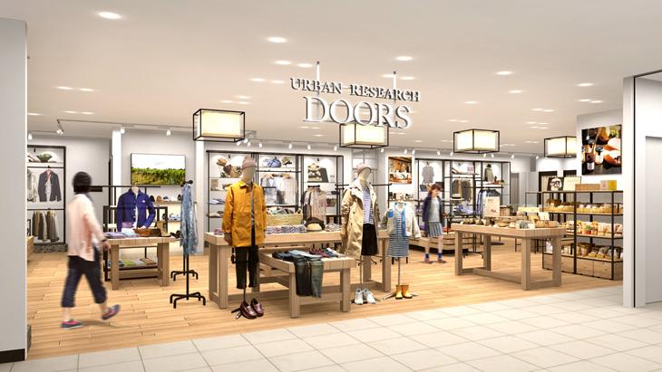 2016年3月10日(木) URBAN RESEARCH DOORS アミュプラザ小倉店 NEW OPEN