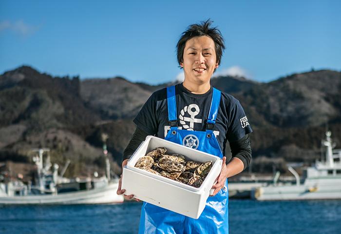 女川産牡蠣のプレゼントキャンペーン
