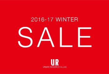 アーバンリサーチグループ 2016-17 WINTER SALE・福袋販売日程のお知らせ