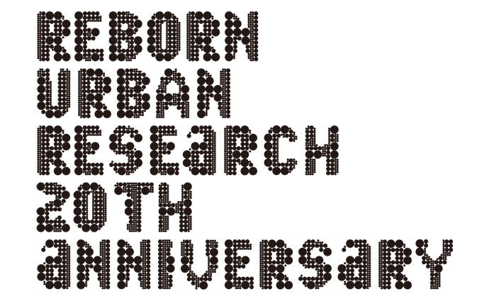 URBAN RESEARCH 20TH ANNIVERSARY