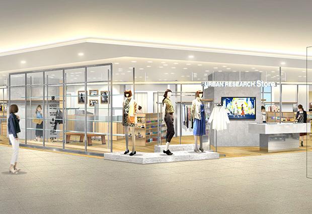 6月24日(土) URBAN RESEARCH Store そごう千葉オーロラモールジュンヌ店 NEW OPEN