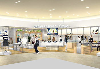 10月29日(日) URBAN RESEARCH Store ekie広島店 GRAND OPEN!