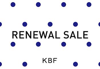 KBF ルミネ立川店・ルミネ大宮店 リニューアルセール