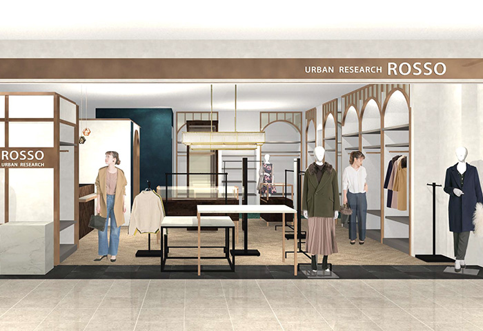 URBAN RESEARCH ROSSO 新静岡セノバ店 2018年3月21日(水) NEW OPEN