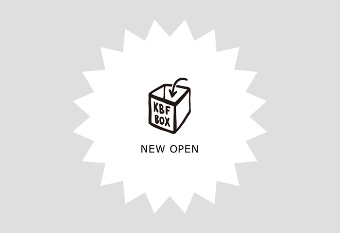URBAN RESEARCH ONLINE STOREにKBFBOXがオープン!!