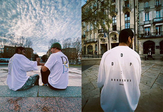 ddp × SENSE OF PLACE by URBAN RESEARCHのコラボレーショングラフィックTが登場