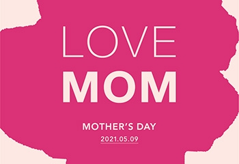 LOVE MOM <br>BLOMSTER 母の日限定ギフト