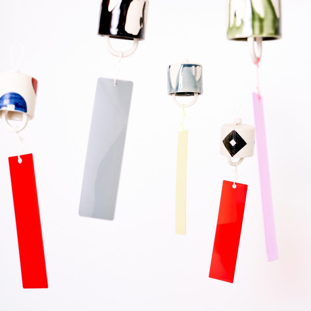 長崎伝統の「長崎凧」の柄を活かし、モダンに昇華させた風鈴を発売