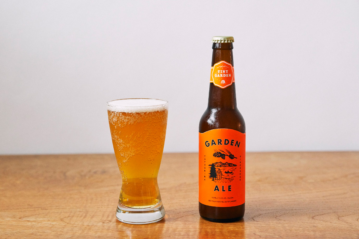 地元のビール醸造家と地元ビール愛好家のコミュニティから生まれた新商品クラフトビール「GARDEN ALE」販売開始